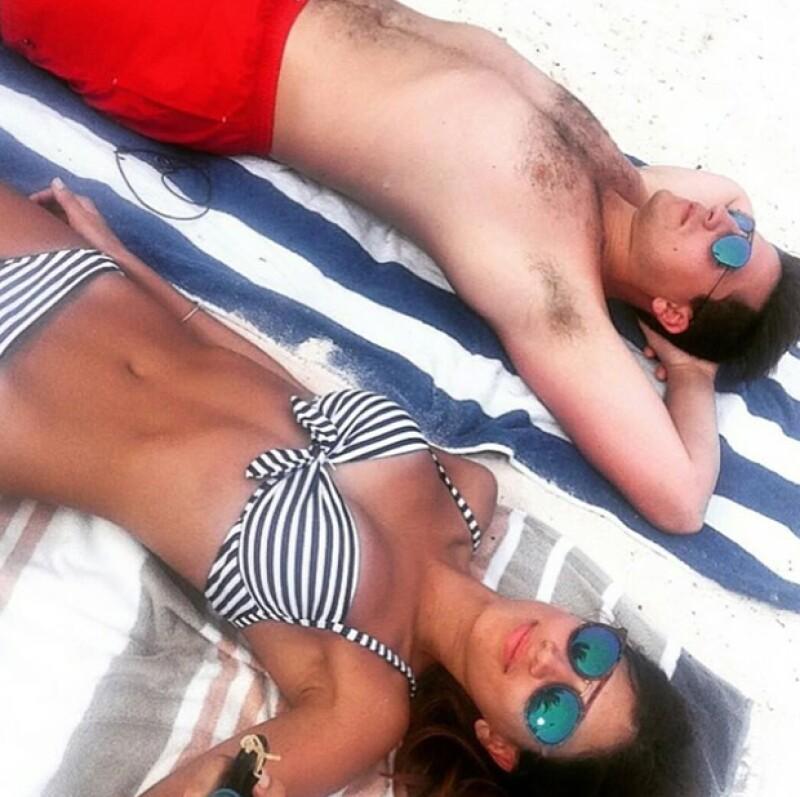 Claudia Sada y Eric Elizondo