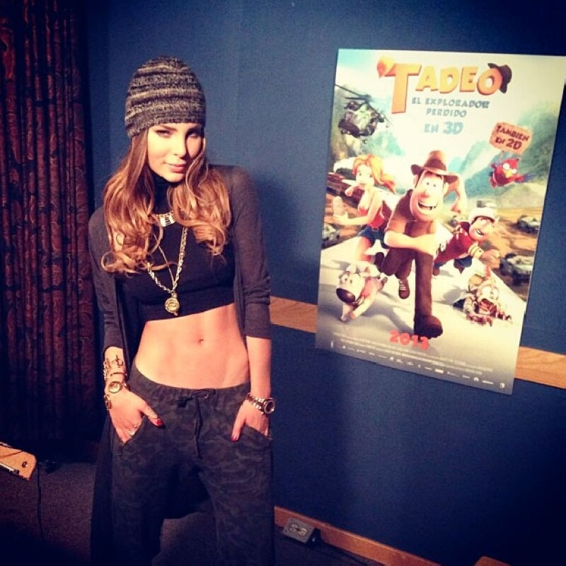 La cantante prestará su voz al personaje de Sara Lavrof para el doblaje en Latinoamérica de la película Tadeo el Explorador Perdido.