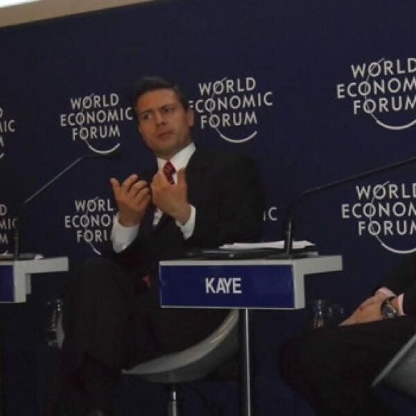 Peña Nieto-WEF