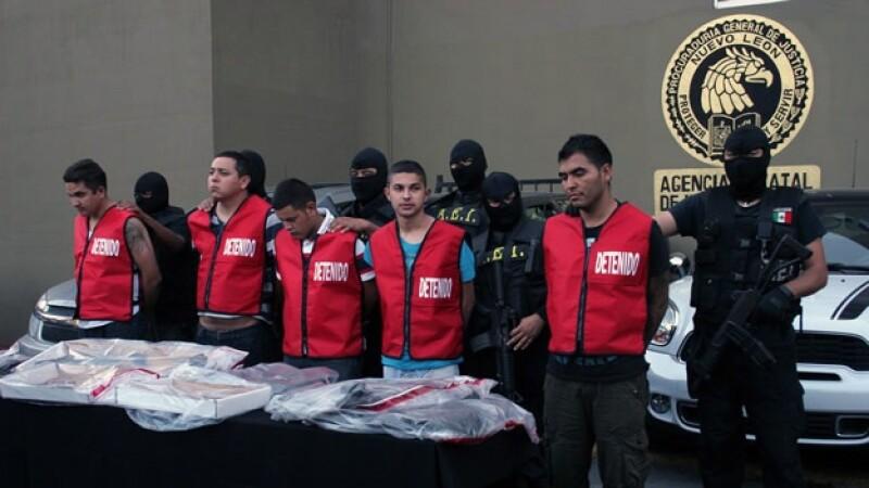 presentación detenidos Casino