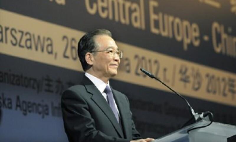Wen Jiabao, primer ministro chino dijo que el financiamiento que dará su país a Europa, profundizará la cooperación mutua en proyectos de economías  sustentables. (Foto: Reuters)