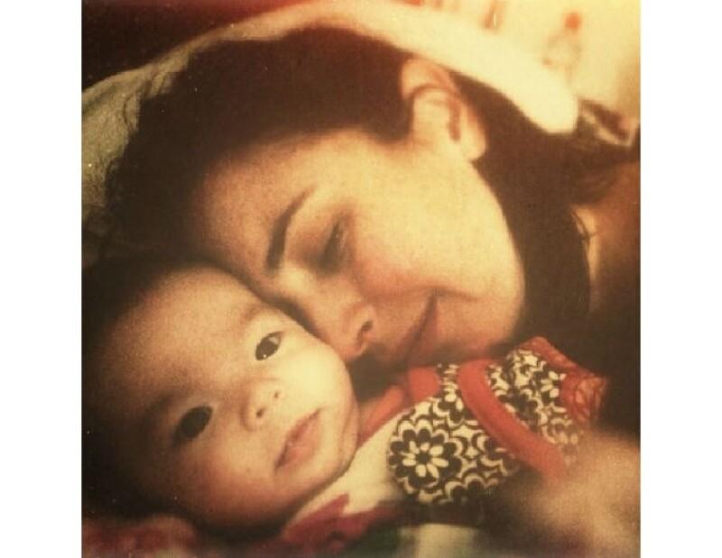 La actriz nos comparte el momento que vive junto a su hija Regina, a seis meses de nacida, y cómo ella le ha cambiado la vida.