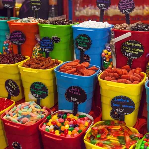 Mercado Roma dulces