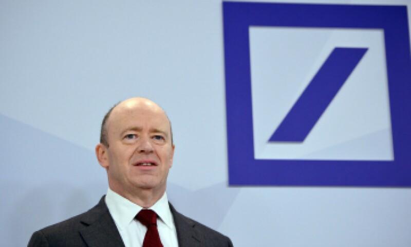 John Cryan, nuevo copresidente del banco, dio la noticia este jueves. (Foto: Getty Images)