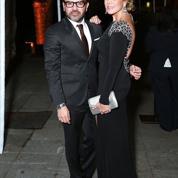 Carlos Gómez y Paola Altamirano