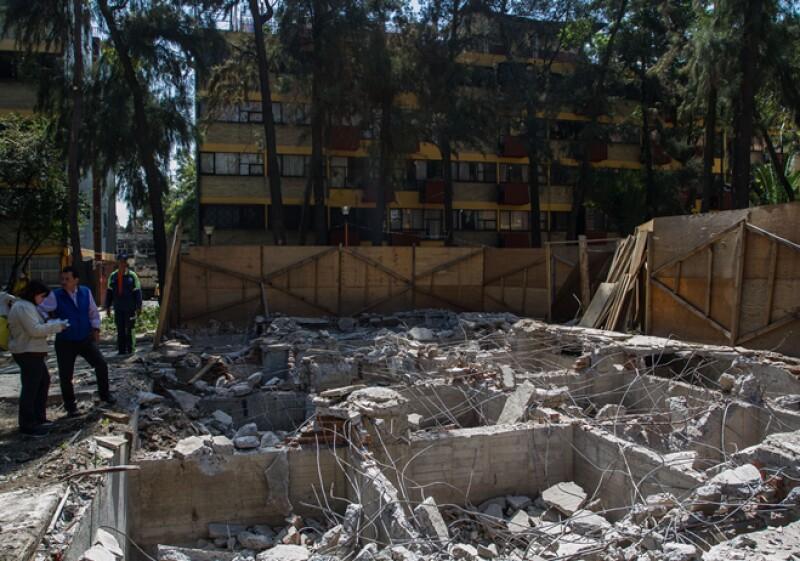 Reconstrucción Multifamiliar Tlalpan