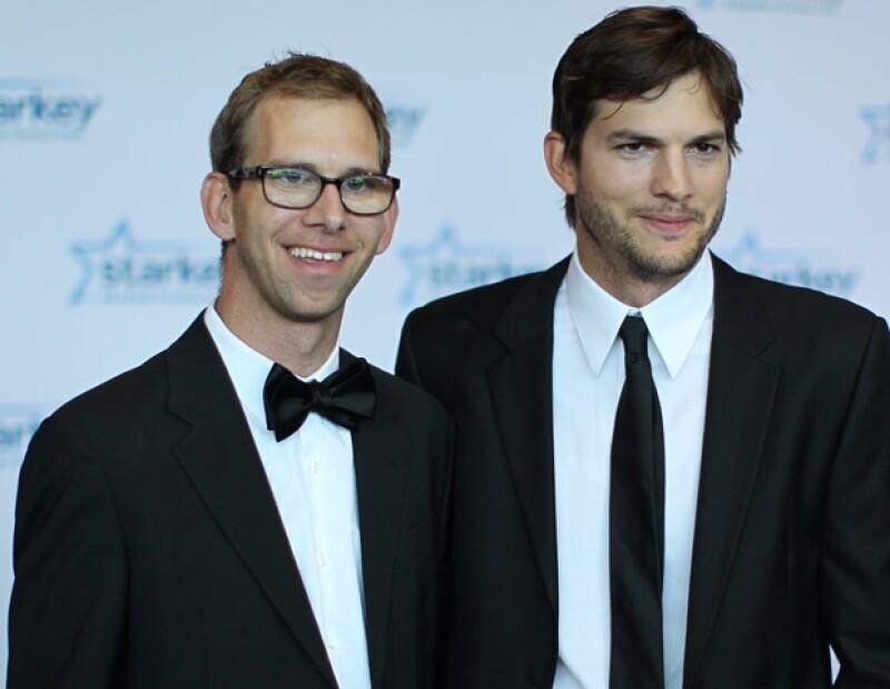 Michael es gemelo de Ashton y también será papá este año.
