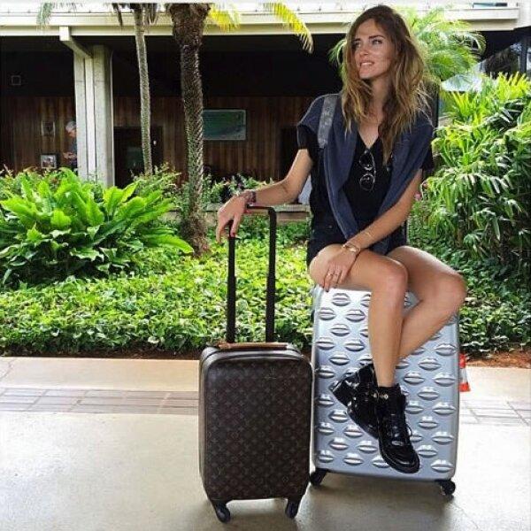 ¡Nos encanta su maleta de besos!