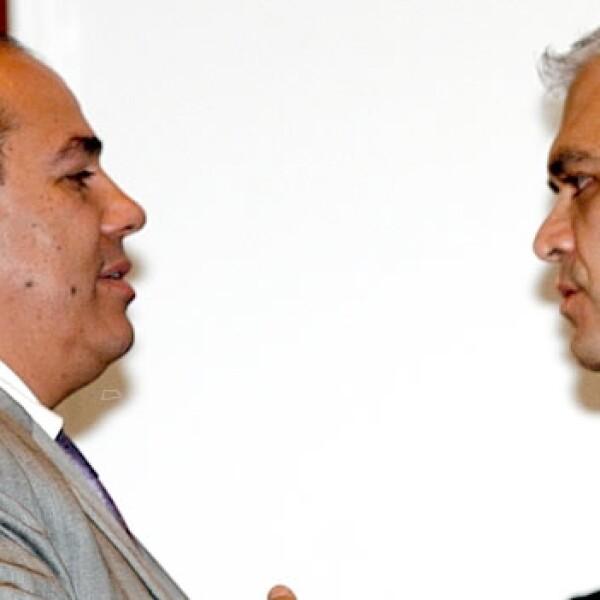 odolfo Feliz y Miguel Angel Mancera