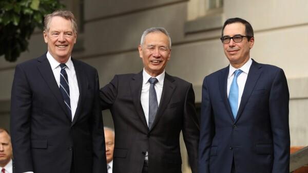 Estados Unidos China negociación