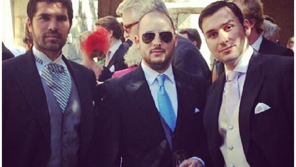 El actor tamaulipeco hizo un viaje a Francia junto a algunos miembros de su familia y amigos para asistir a la boda del príncipe de Luxemburgo y la alemana Claire Lademacher.