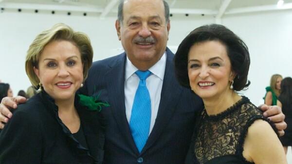 El empresario mexicano recibió a las integrantes de la Asociación Gilberto en el Nuevo Soumaya para celebrar su XXVI Asamblea General.