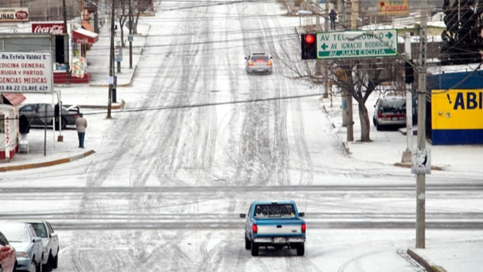 Nevada en chihuahua frío 15 grados bajo cero 2