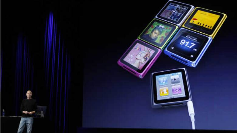 Una nueva línea de iPods, de los cuales destaca el iPod Touch equipado con 2 cámaras y el iPod Nano Touch.
