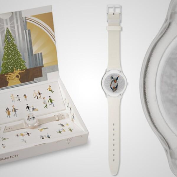 """El """"Snow Dance"""" es el modelo más exclusivo de esta colección, con tan sólo 7,000 unidades en el mercado. Al fondo del cristal, aparecen un par de niños, jugando bajo la nieve y se comercializa junto con un pequeño globo de nieve. Esta pieza tiene un preci"""