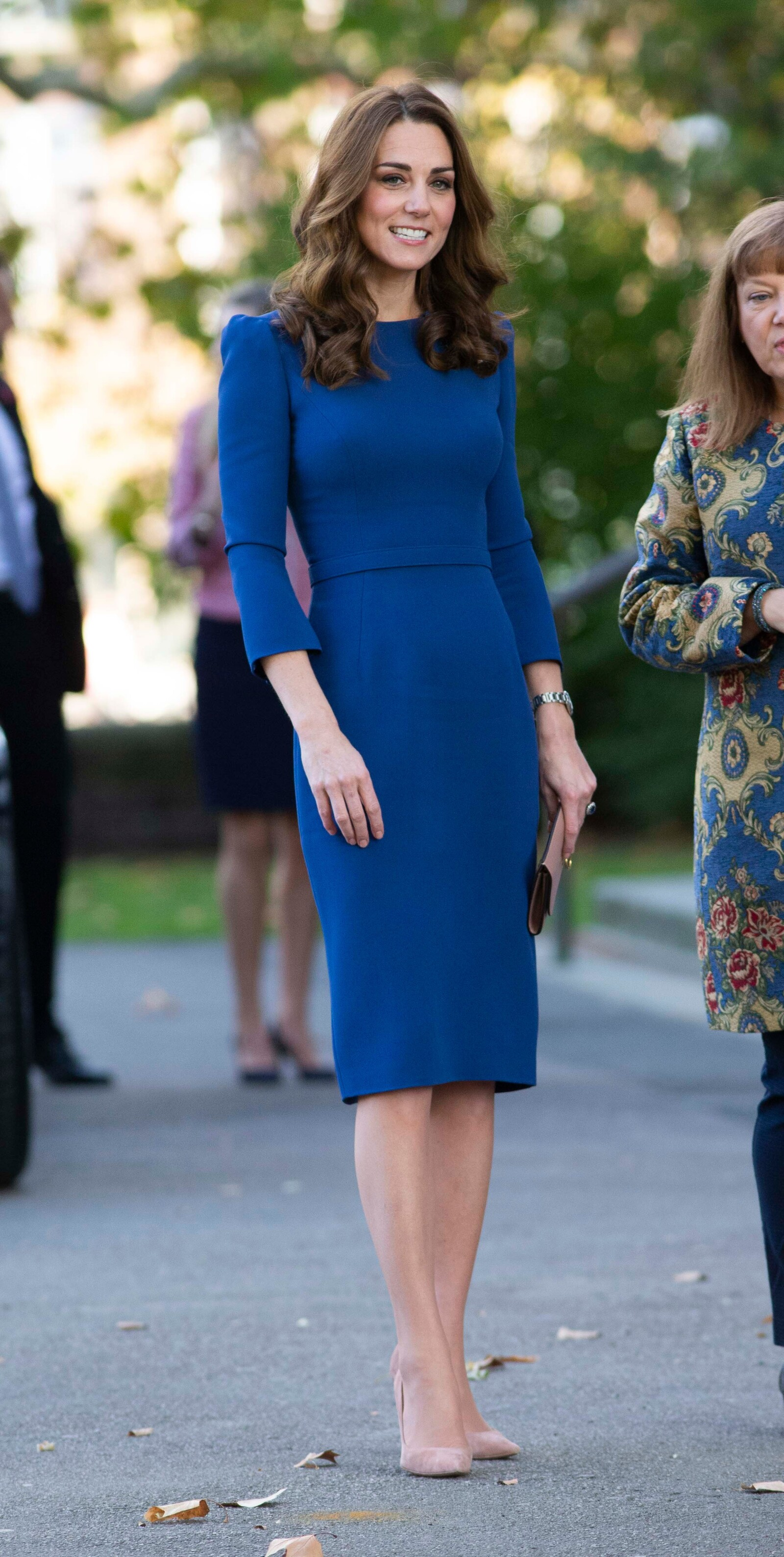 Catherine Duchess of Cambridge visits the Imperial War Museum, London, UK - 31 Oct 2018