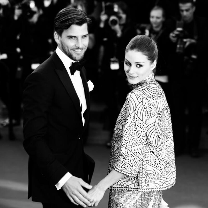 El par de guapos modelos aceleraron su boda, por lo que no le avisaron a muchos que se convertirían en marido y mujer.