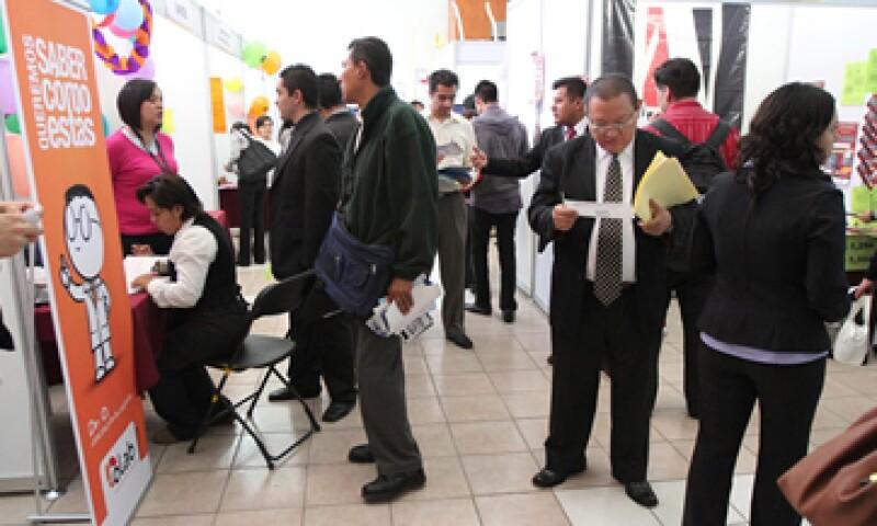 Según especialistas, México requiere de un millón de nuevos puestos de trabajo anualmente. (Foto: Notimex)