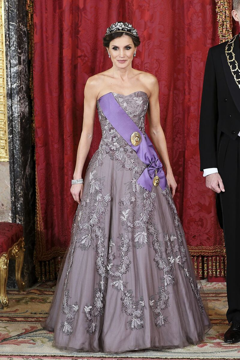 Spanish Royals Host A Gala Dinner For President Of Peru And His Wife
