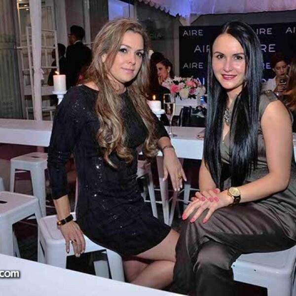 Odila Olivier y Paola Rivera.