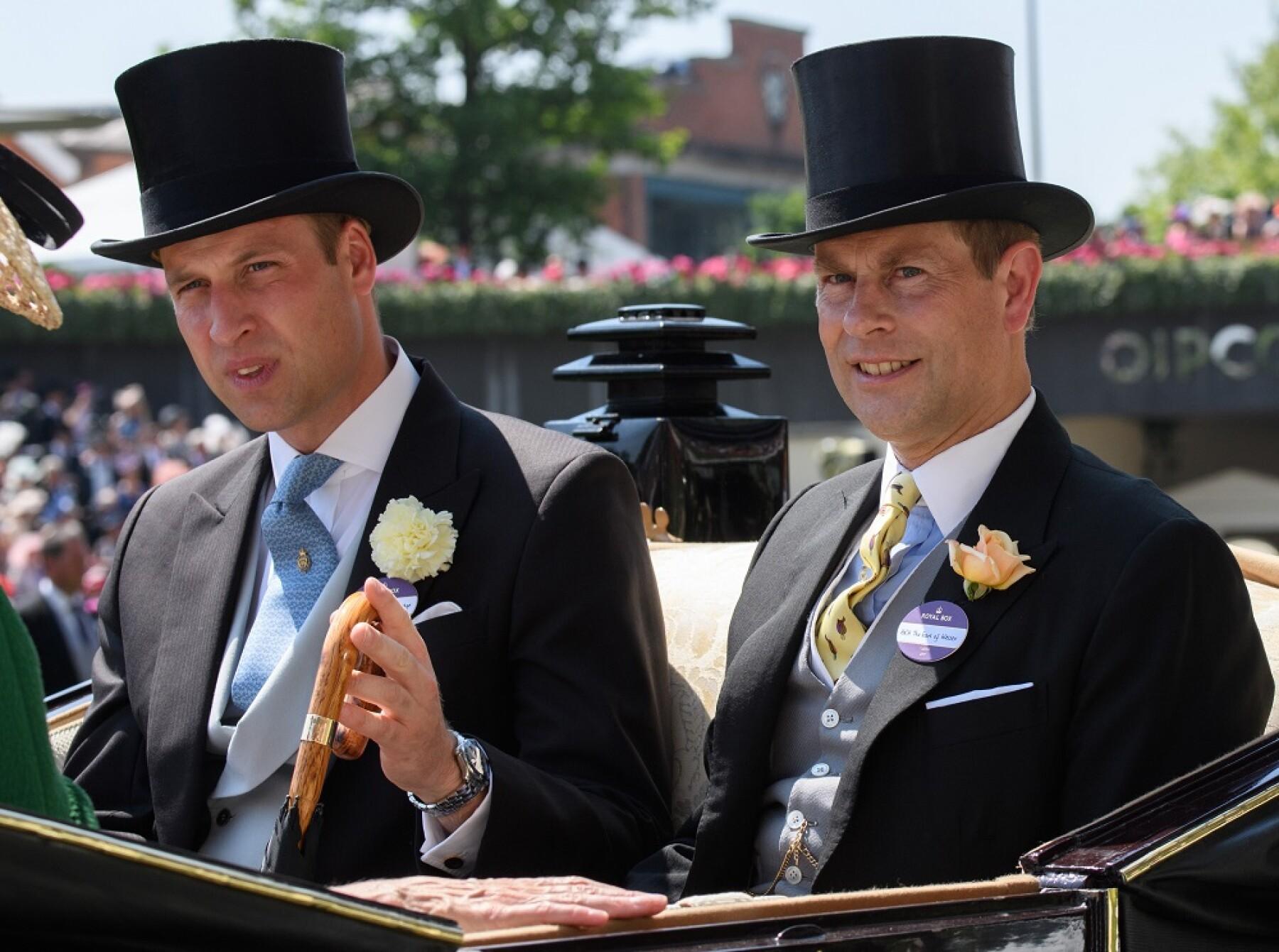 Príncipe William y el príncipe Andrés