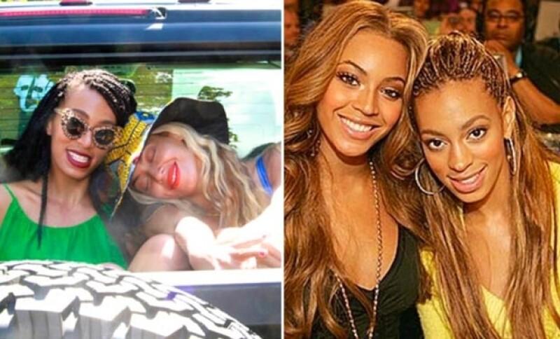 Mientras que Solange borró ayer varias fotos con ella, hoy Beyoncé ha hecho lo contrario.