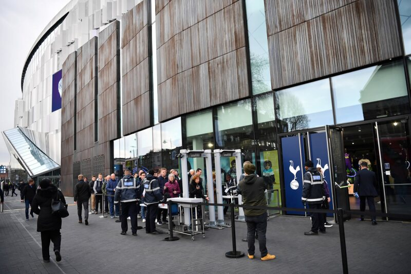 Tottenham - Estadio - Entrada