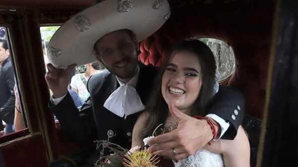 Francisco Barba y Camila Fernández