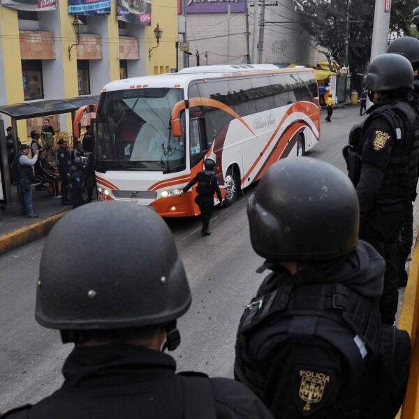 La policía capitalina vigilará la manifestación magisterial de este viernes