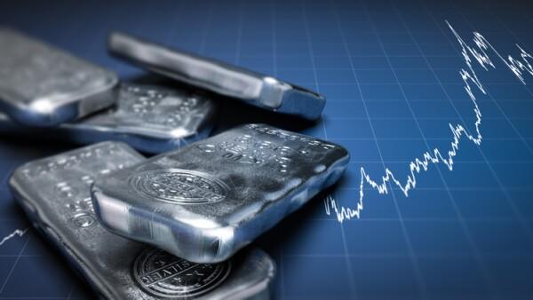 Silver Bullion Bars and Price Chart
