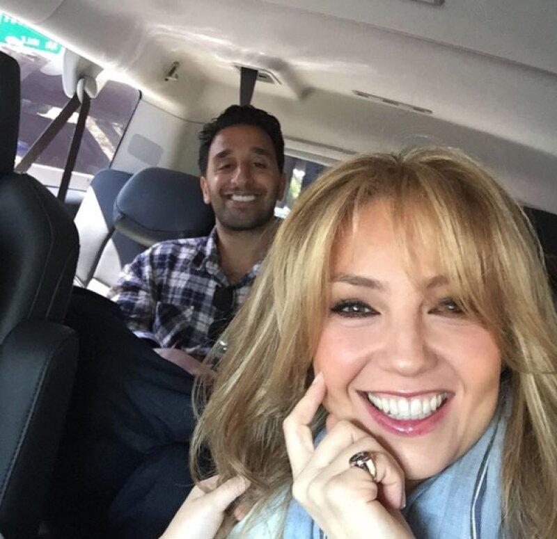 La cantante promocionó a su cuñado en su red social.