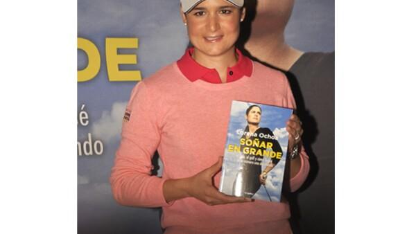 La golfista mexicana habló sobre su texto `Soñar en grande´, en el que abre las puertas de su vida personal y explica los motivos de su retiro.