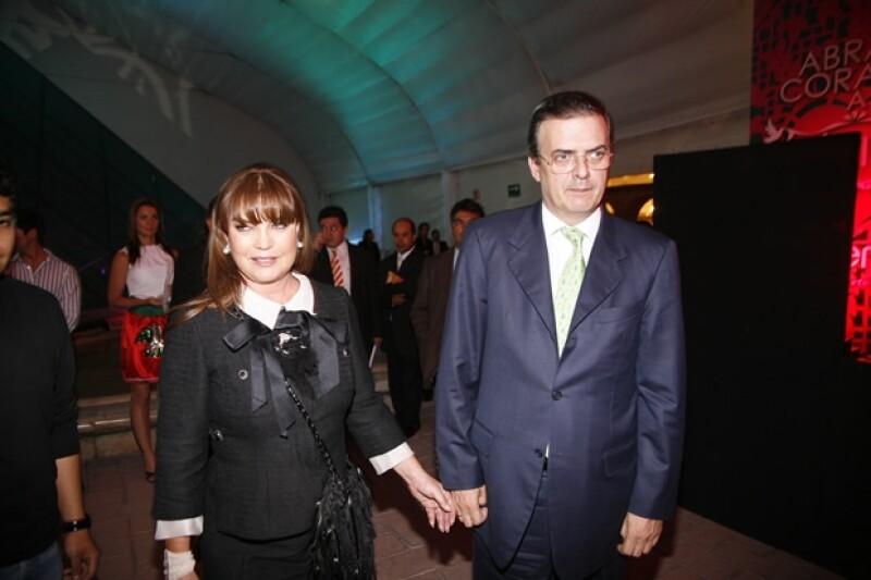 Marcelo Ebrard y Mariagna Prats se divorciaron en enero de 2011.