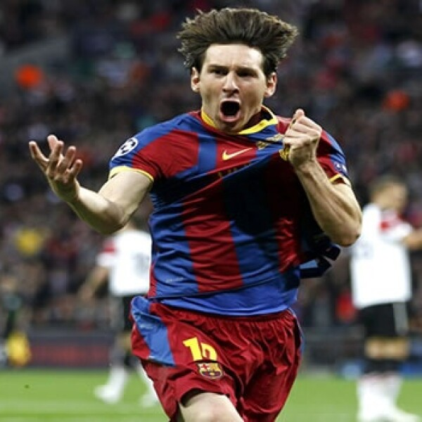 gol messi champs
