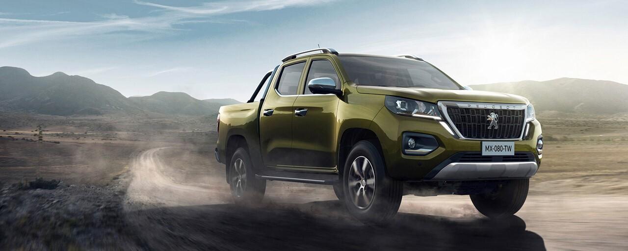 Peugeot competirá con Nissan, Toyota y Ford por el segmento de pickups medianas