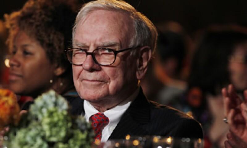 Warren Buffett tuvo una racha de compras en los últimos tres meses que culminaron el 30 de septiembre. (Foto: AP)