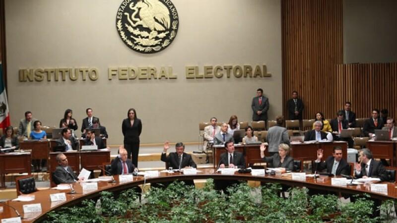 Reunión extraordinaria del consejo general del IFE