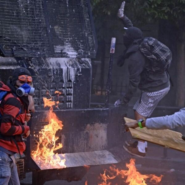 La manifestación estuvo enmarcada dentro de las protestas contra Nicolás Maduro que se registran desde hace semanas