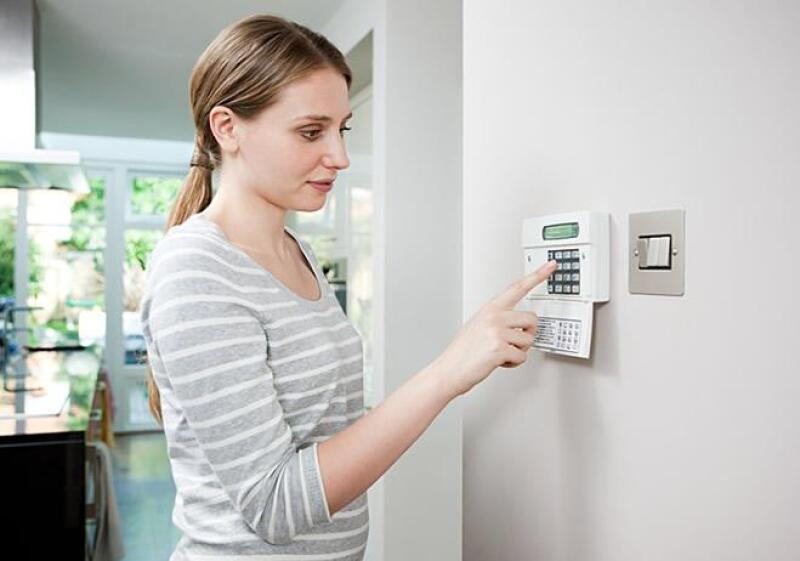 Casa inteligente seguridad