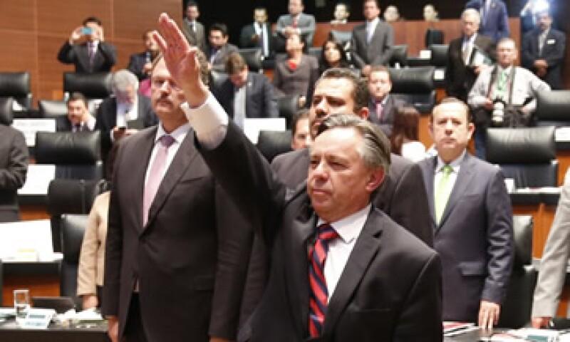 Eduardo Medina Mora fue elegido con 83 votos en el Senado. (Foto: Cuartoscuro )