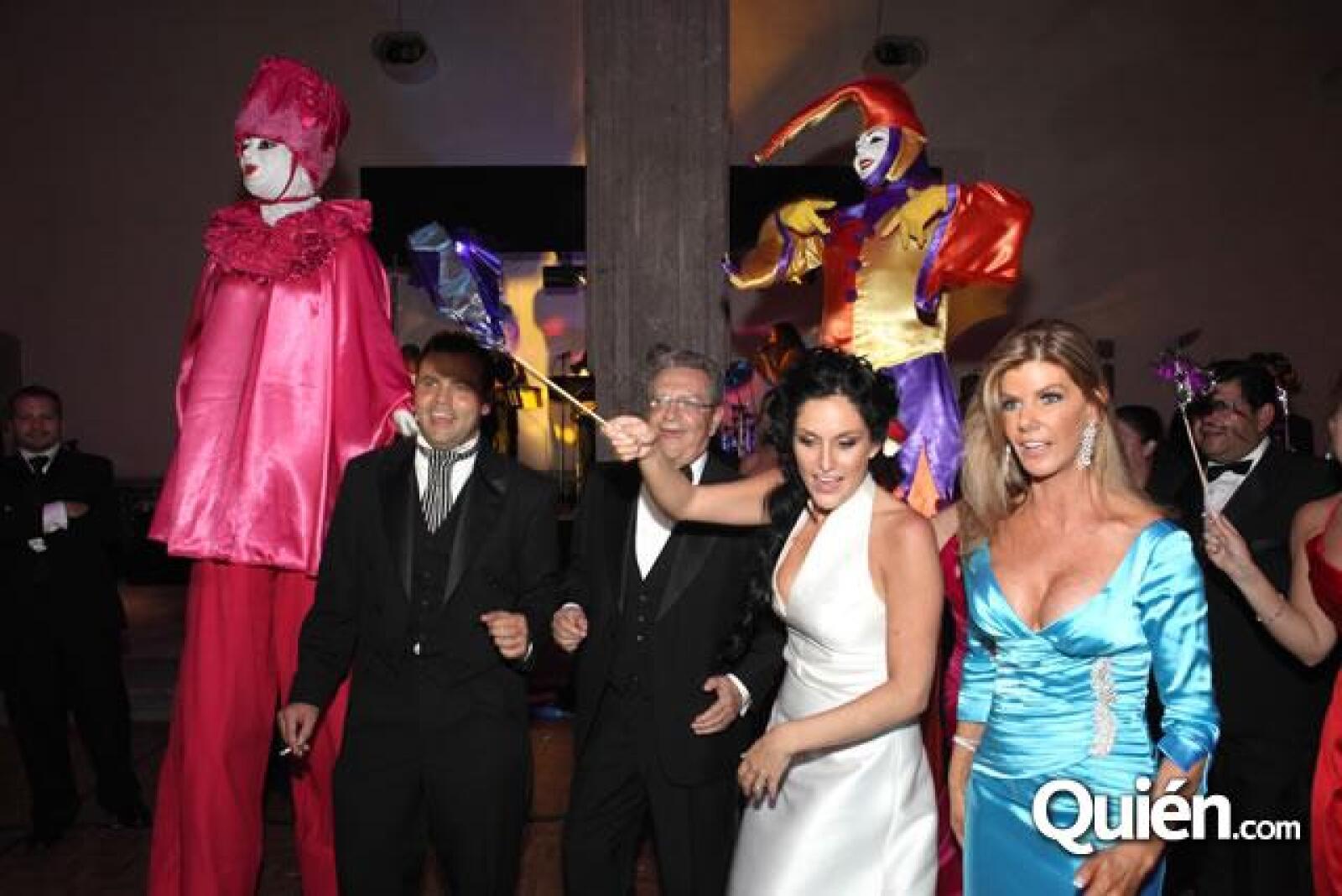 Guillermo Ochoa,Guillermo Ochoa,Danielle Dithurbide,Denisse Salazar