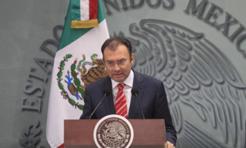 Videgaray dijo que la decisión de Argentina de flexibilizar su control de cambios va en el sentido correcto. (Foto: Cuartoscuro)