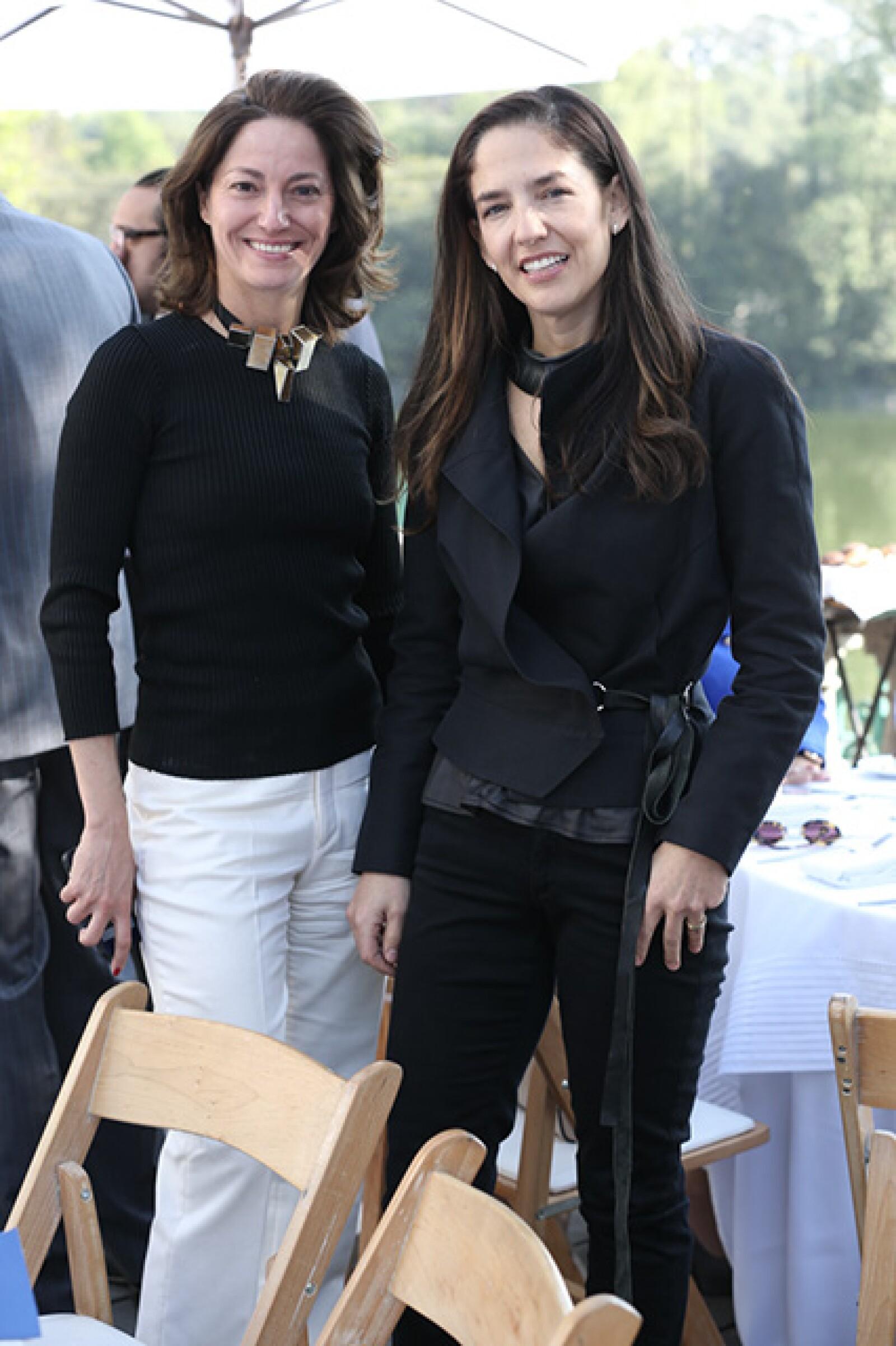 Sandra Chollet y Bertha González