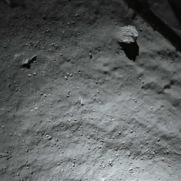 cometa philae primera foto