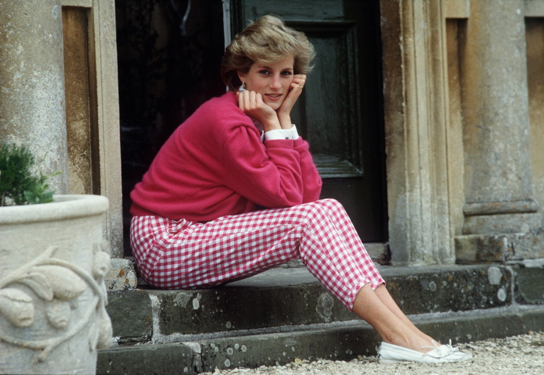 Diana At Highgrove