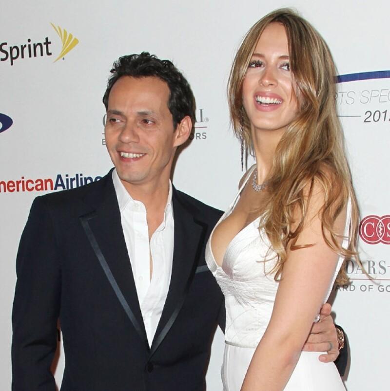 Por tercera ocasión Marc contraerá nupcias, ahora con la modelo venezolana, quien tiene un hijo de siete años.