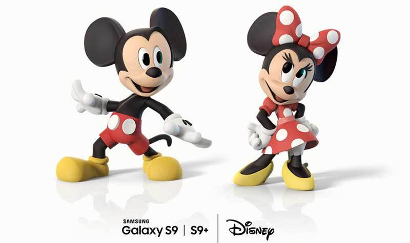 Mickey Mouse y Minnie