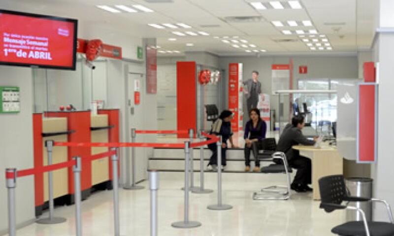 Por tercer año consecutivo Santander fuer reconocido como el Mejor Banco de México. (Foto: Cuartoscuro)