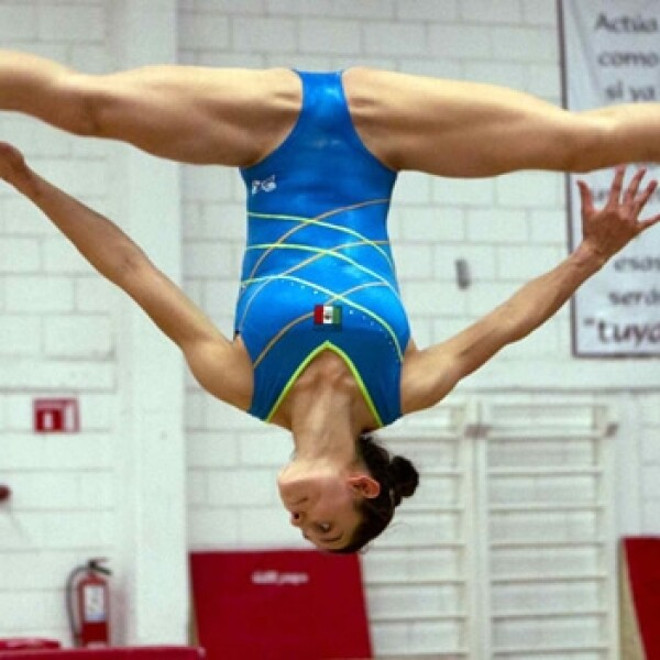 Elsa García gimnasia