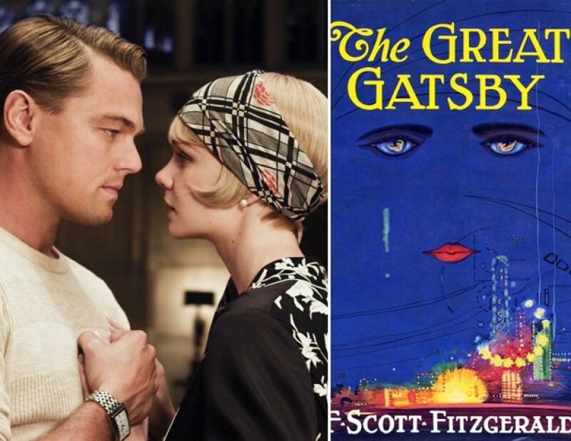 DiCaprio y Carey Mulligan en The Great Gatsby